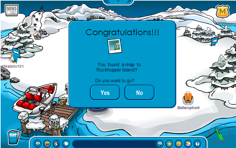 Club Penguin How To Get To Rockhopper Island
