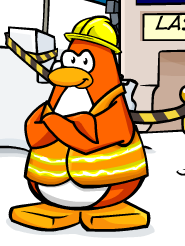 Club Penguin Art Gallery Rory