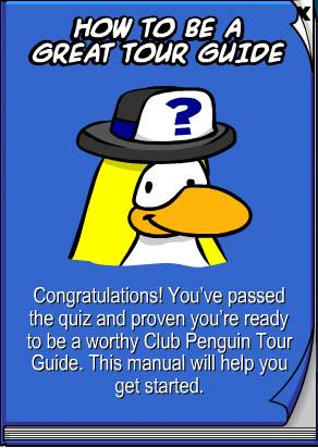 Club Penguin Rewritten Cheats™: How to become a Tour Guide