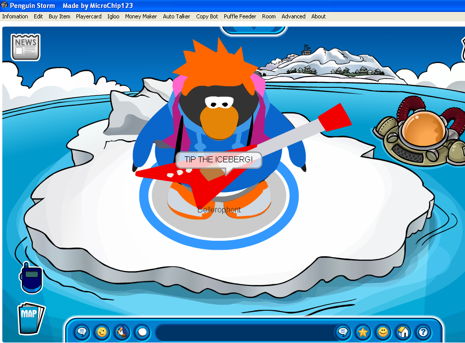 Where can you download penguin storm 12 on clubpenguin